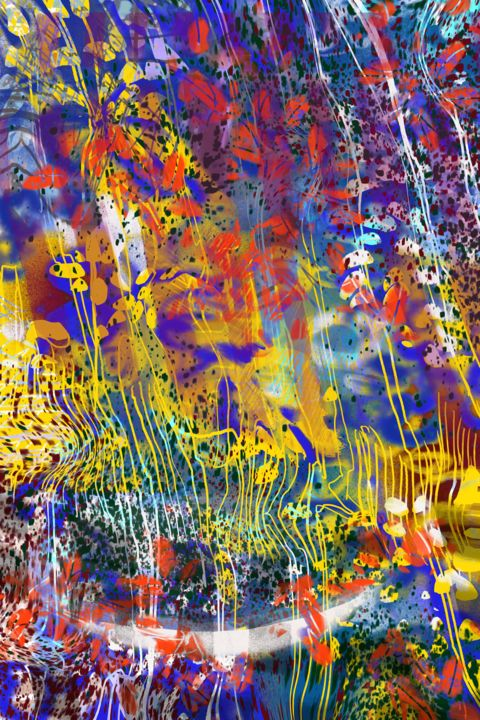 """Digital Arts titled """"Roots and stems"""" by Grant Stewart, Original Art, Digital Painting"""
