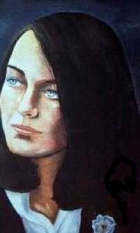 Sieglinde - Painting,  25x33 cm ©2011 by Reginald Gray -