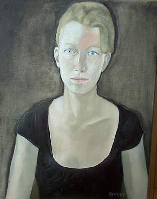 Pauline - Painting,  45x35 cm ©2005 by Reginald Gray -