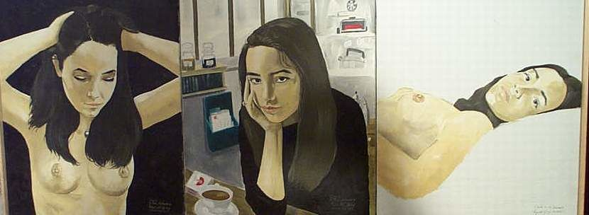 triptych - Painting ©1997 by Reginald Gray -