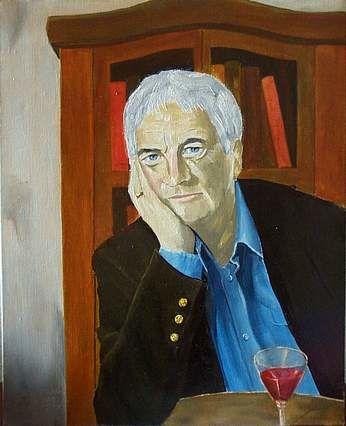 Portrait of the Poet Derry O'Sullivan - Painting ©2002 by Reginald Gray -