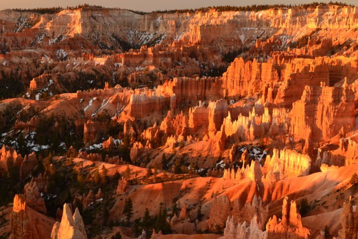 Bryce Sunrise - Photography ©2017 by Greg Gottlieb -