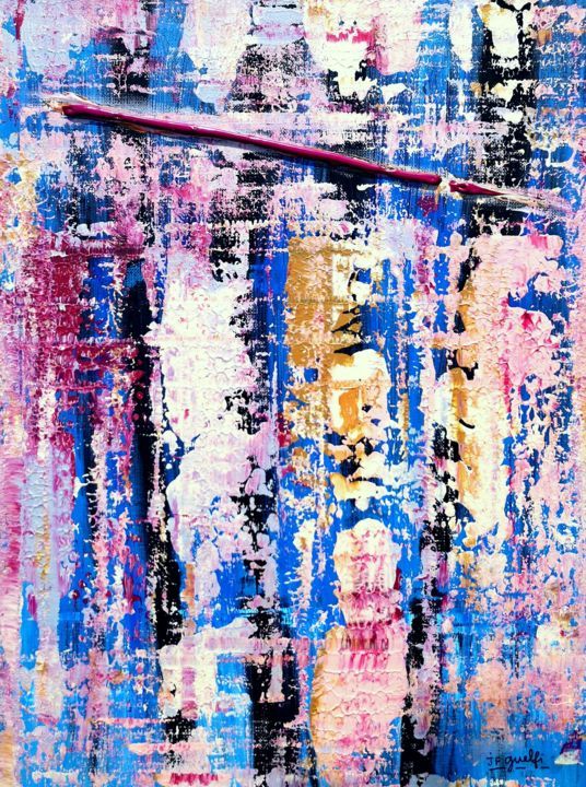 Abstraction toulousaine - © 2019  Online Artworks