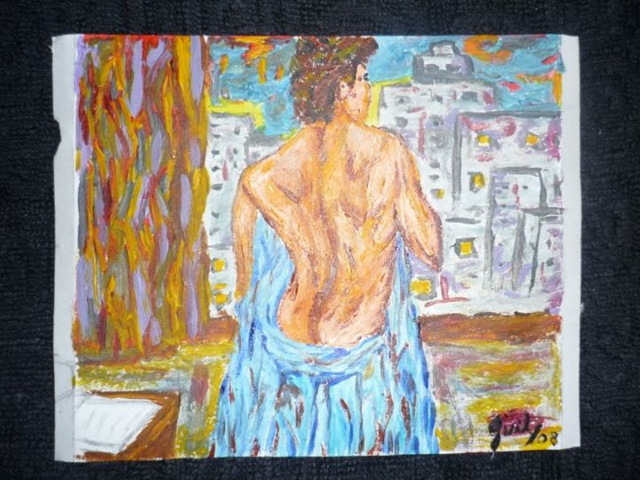 despedida.jpg - Painting, ©2013 by Guil -