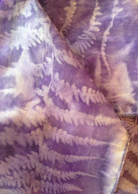 "violet-sun-print-leaf-100-silk.png Spectrum Gallery & Artisan Store ""Follow The Line"" Exhibition"