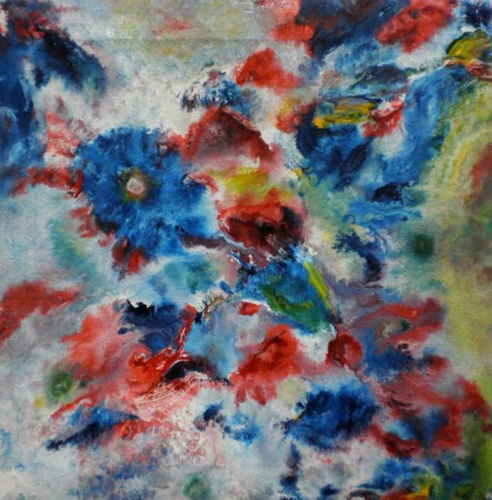 """Painting titled """"Colour"""" by Hamid Nasir, Original Art,"""