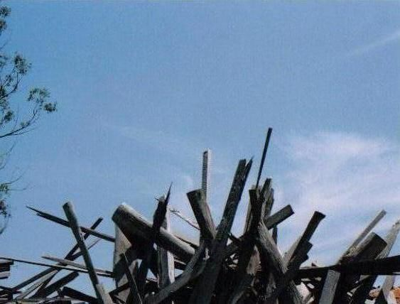 """Photography titled """"WOODEN SKY - COOMBA"""" by David Vincent Hammer, Original Art,"""