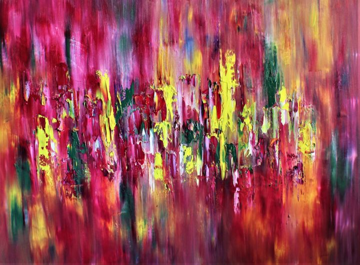 """Painting titled """"Amore"""" by Hanna Supetran, Original Art, Oil"""