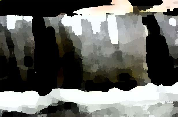 """Painting titled """"waterfall"""" by Lillemor Hansson, Original Art,"""