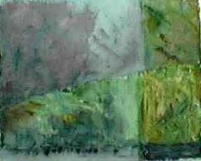 """Painting titled """"In the wood"""" by Lillemor Hansson, Original Art, Oil"""
