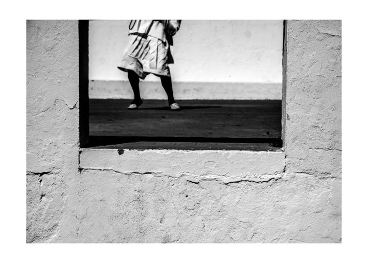 """Photography titled """"waiting in vain"""" by Kanzas Anthony, Original Art, Analog photography"""