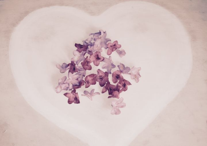 Heart flowers - Photography ©2016 by Heart Art Rebecca -