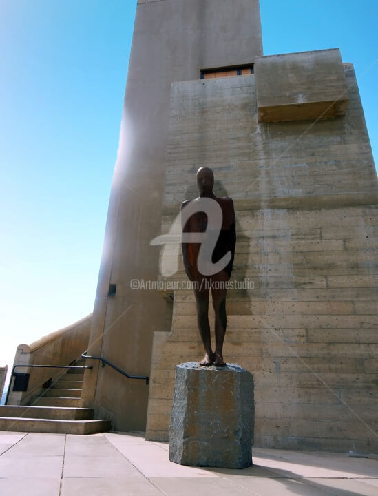 """Photography titled """"The Statue in Canada"""" by Clement Tsang, Original Art, Digital Photography"""