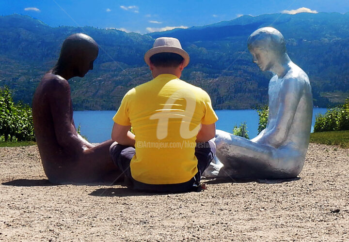 """Photography titled """"Meeting with the St…"""" by Clement Tsang, Original Art, Digital Photography"""