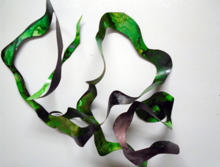 """Sculpture titled """"3-D Magnetic Intera…"""" by Holly Anderson, Original Art, Plastic"""