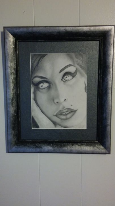 """Drawing titled """"1482526542920145955…"""" by Holly Paskey, Original Art, Charcoal"""