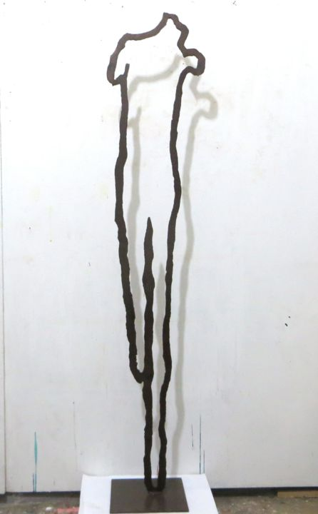 """Sculpture titled """"VUOTO"""" by Morgese Giovanni, Original Art, Metals"""