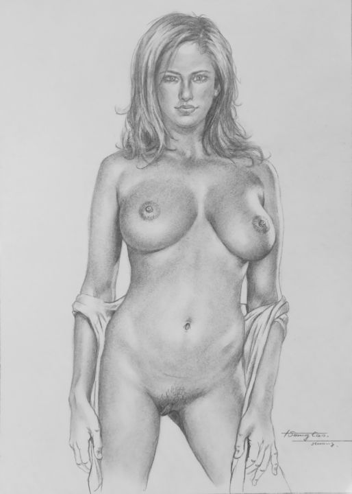 Sexy nude women sketch here casual