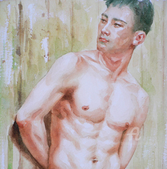 Nude man Chinese