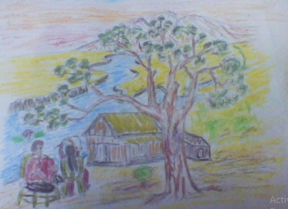 """Painting titled """"d.png"""" by Mohammad Abdul Hoque Mastar, Original Art,"""