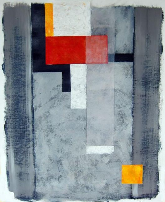 """Painting titled """"Out of the box"""" by Ann-Charlotte Hultberg, Original Art,"""