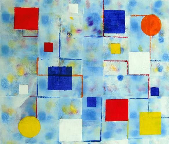 """Painting titled """"Untitled"""" by Ann-Charlotte Hultberg, Original Art,"""
