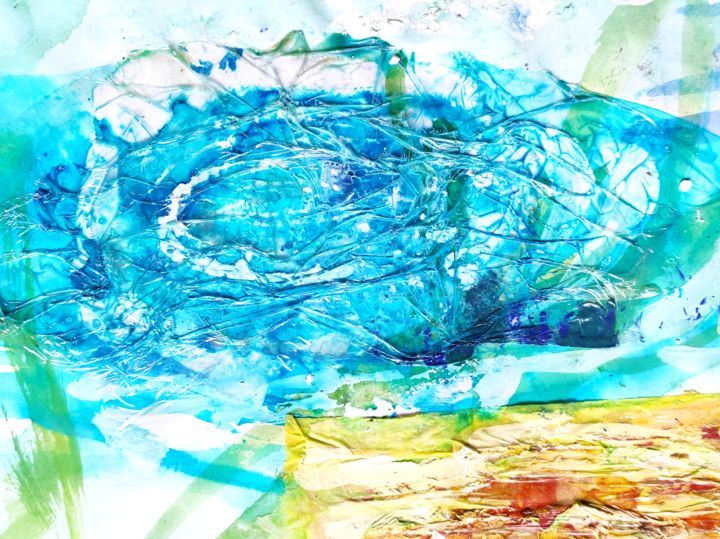 Whirlpool - Collages, ©2020 by Ibolya Taligas -                                                                                                                                                                                                                                                                                                                                                                                                                                                                                                                                                                                                                                                                                                                                                                                                                                                                                                                                                                                                      Abstract, abstract-570, Abstract Art, Colors, Patterns, Water, water, fine art, abstract, modern, nature, natural, fenomenon, whirlpool, movement, spiralling, twirling, circular, wall art, colour, pattern