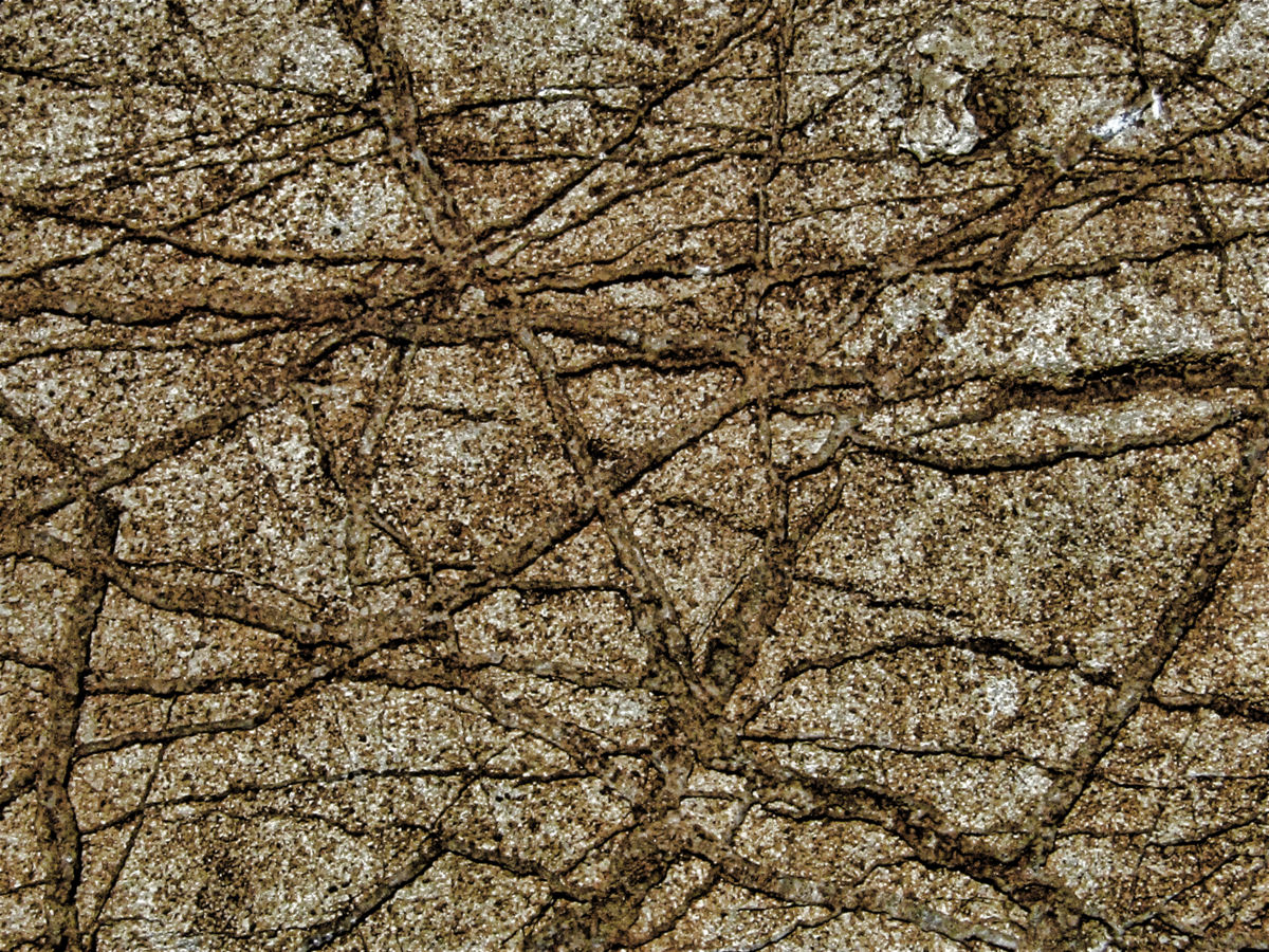stone 1 - Photography ©2018 by Isabelle Stagg -                                                                                                            Abstract Art, Environmental Art, Land Art, Aluminum, Landscape, Nature, Rural life, stone, macro digital photography