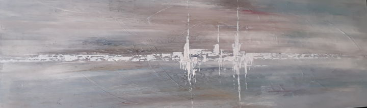 MIRAGE - Painting,  500x1,000x30 cm ©2019 by igor BILLY -                                        Abstract Art, Architecture