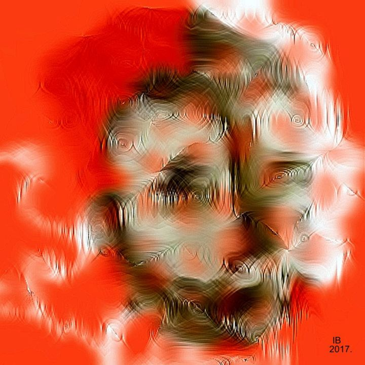 ....Cordius !- Portrait Collection #2017. - Photography, ©2017 by Art Of Big Boy -                                                                                                                                                                                                                                                                                                                                                                                                          Abstract, abstract-570, Portraits, Portraiture Modern, Figurative, Fine Art, Abstract/Expressionism, Photo Paint