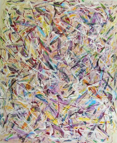 """Painting titled """"Untitled 63"""" by Il Ho, Original Art,"""