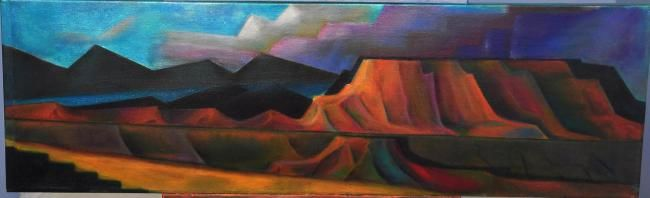 """Painting titled """"Glory After the Sto…"""" by Linton Vedrene, Original Art, Oil"""