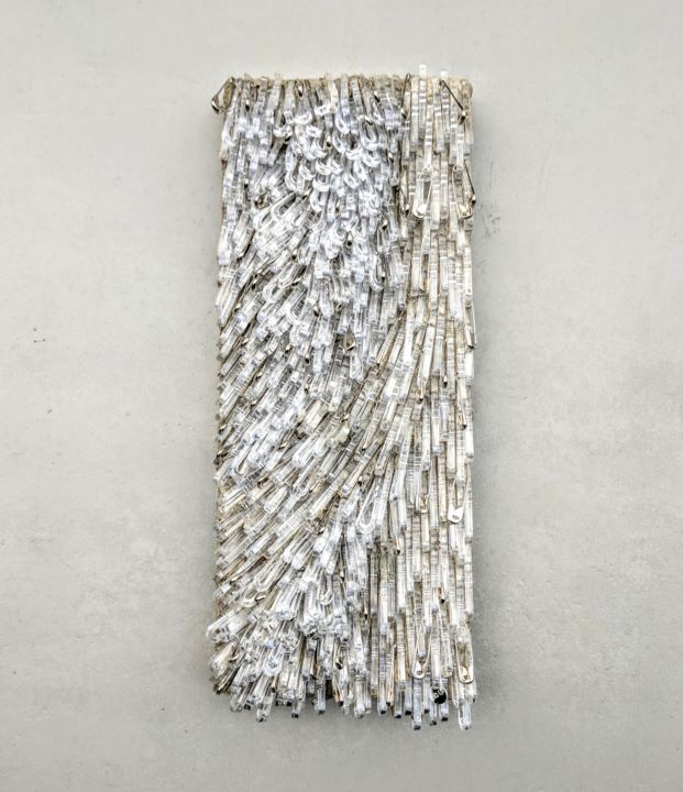 """Sculpture titled """"Pins and Needle"""" by Francesca Busca, Original Art,"""