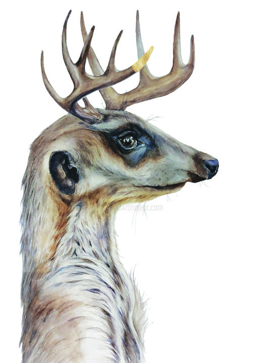 Animal Painting, watercolor, illustration, artwork by Ingaside