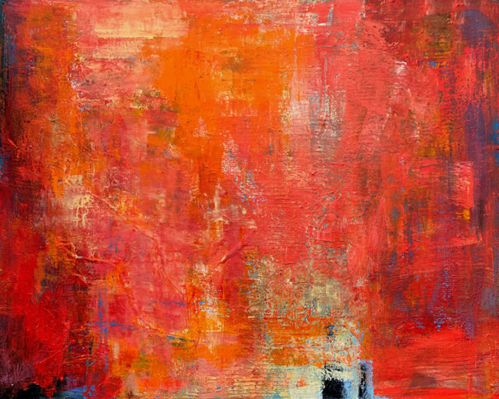 Summer impressions - Pintura,  31,5x39,4x1,6 in, ©2020 por Irina Laube -                                                                                                                                                                          Abstract, abstract-570, Arte abstrata