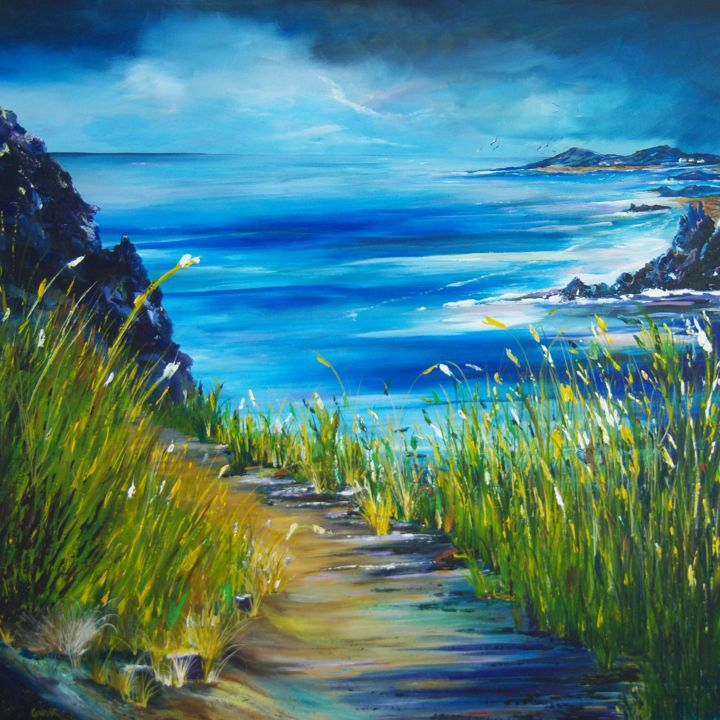 West coast of Ireland Painting by Conor Murphy | Artmajeur