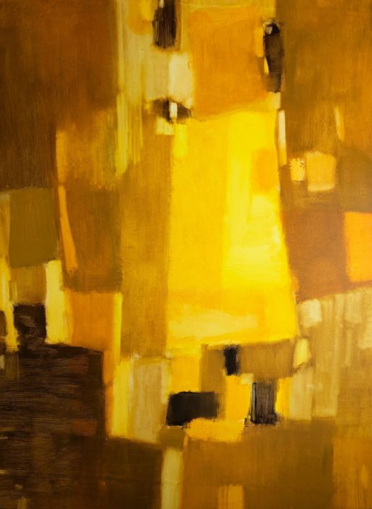 """Painting titled """"18 seconds before s…"""" by Kitaieva Iryna, Original Art, Oil"""