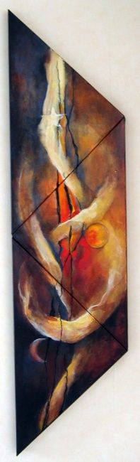 lux ou lumen - Painting ©2007 by Isabelle Husson -