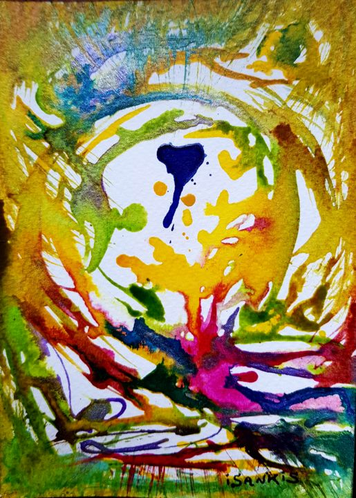 20171020-152604.jpg - Painting, ©2018 by ISANKIS -