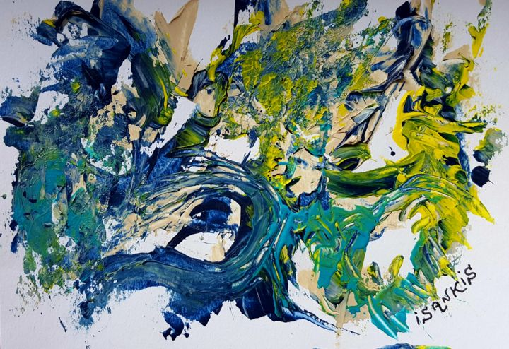 20170607-111308.jpg - Painting, ©2017 by ISANKIS -