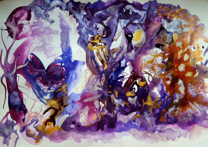 20160726-225033.jpg - Painting, ©2016 by ISANKIS -