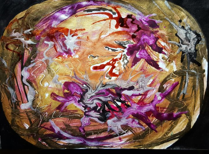 20160905-093332.jpg - Painting, ©2016 by ISANKIS -
