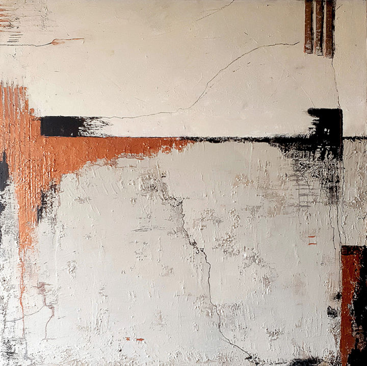 """Painting titled """"Underneath no.2"""" by Iulia Paun, Original Art, Acrylic Mounted on Stretcher frame"""