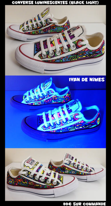 *Ivan de Nîmes* VS *Converse Luminescentes* 99€ - Design ©2017 by Ivan De Nîmes -