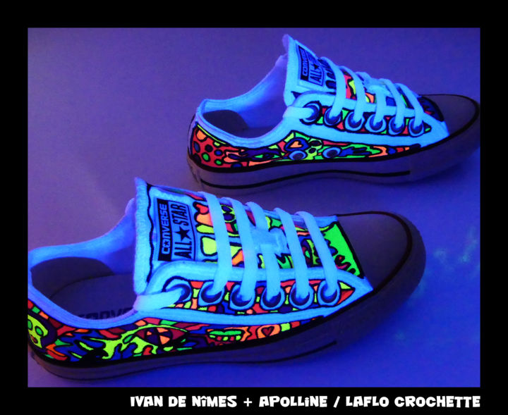 Ivan de Nîmes* and co VS *Converse Luminescentes* Textile