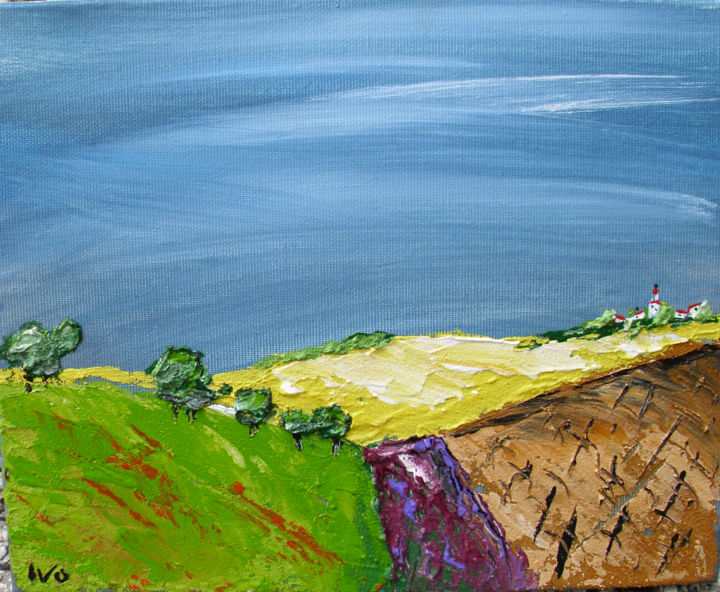 """Painting titled """"after-the-storm.jpg"""" by Ivo, Original Art, Oil"""