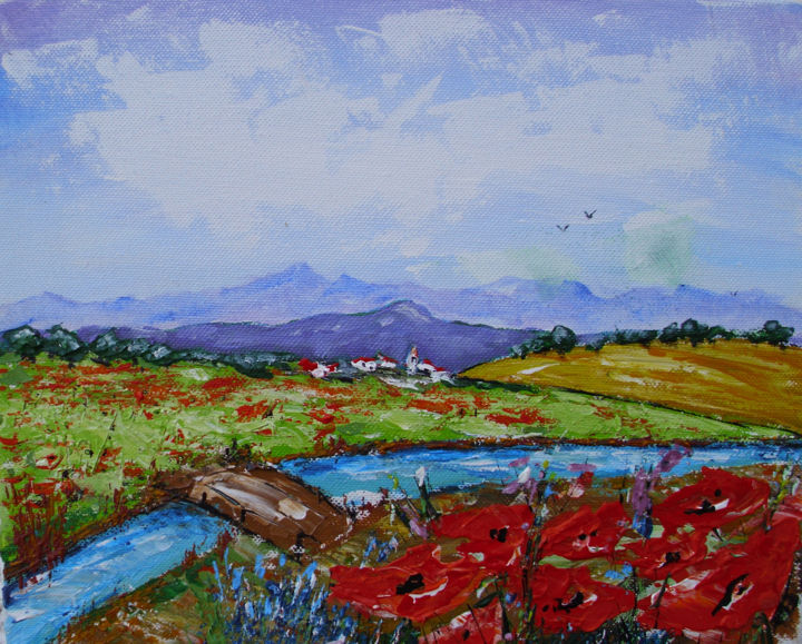 """Painting titled """"provence.jpg"""" by Ivo, Original Art,"""