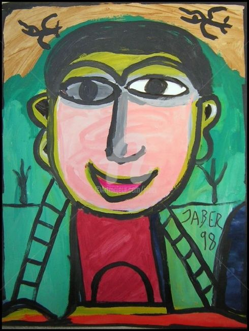 0701_013.jpg - Painting, ©2007 by Monsieur JABER -