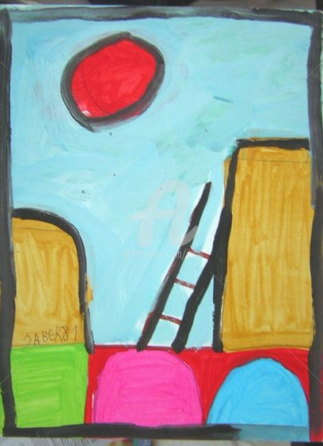 0705_024.jpg - Painting, ©2007 by Monsieur JABER -