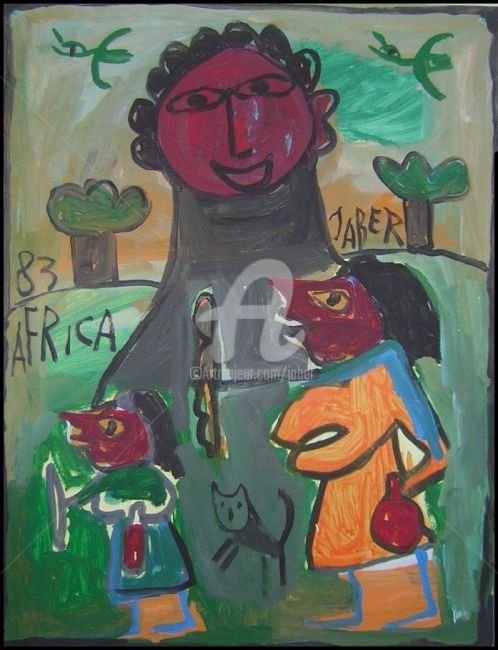 0705_030.jpg - Painting,  65x50 cm ©1995 by Monsieur JABER -
